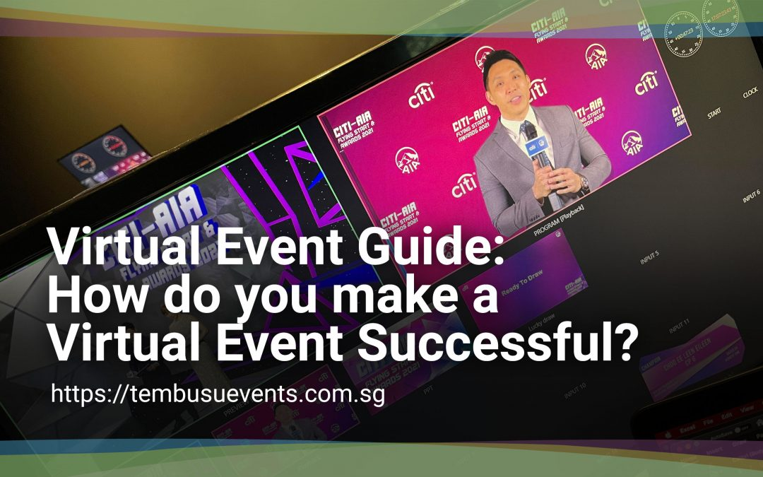 Virtual Event Guide: How do you make a virtual event successful?