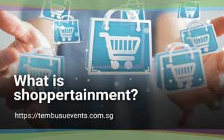 What is shoppertainment?